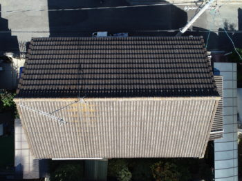 屋根診断,瓦のコケ,雨漏り原因