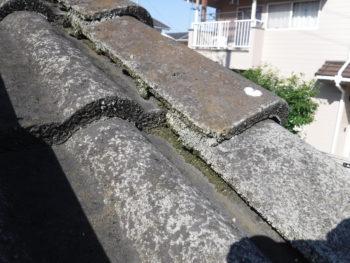 セメント瓦,毛細管現象,雨漏り原因