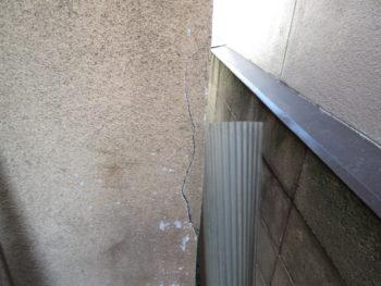 外壁の亀裂,ヘアクラック,モルタルの剥がれ