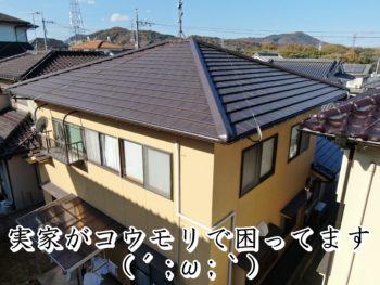福山市清水ヶ丘K様邸【瓦葺き替え工事】